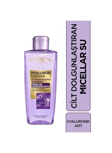 L'Oréal Paris Hyaluron Uzmanı Cilt Dolgunlaştırıcı Mıcellar Temizleme Suyu 200 ml Renksiz